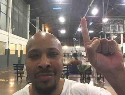 DJC artist Leon Benson at Pendleton Correctional Facility. Benson has served 17 years thus far for a murder he did not commit.