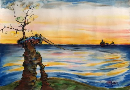 The Bridge, by Conor Broderick