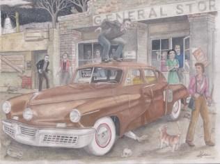 1948 Tucker by D. Ashton