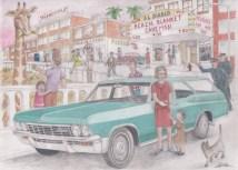 1965 Chevy Impala Wagon by D. Ashton