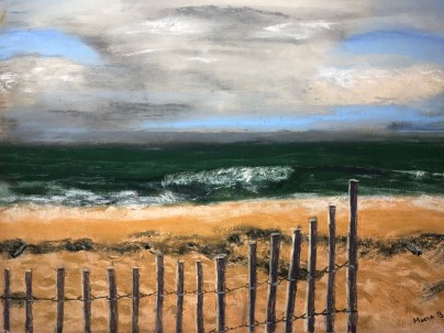 Winter Beach, Maria Buie