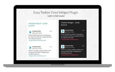 Easy-Twitter-Feed-Widget-Plugin