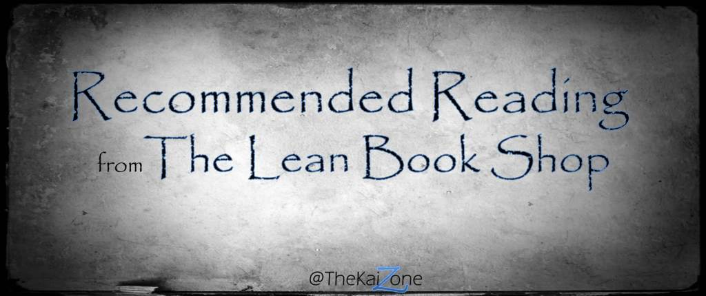 The best Lean books for beginners from The Lean Book Shop