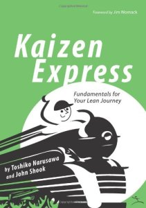 Kaizen Express by Toshiko Narusawa and John Shook (kaizen books, kaizen book)