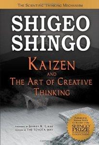 Kaizen and the Art of Creative Thinking by Shigeo Shingo (kaizen books, kaizen book)