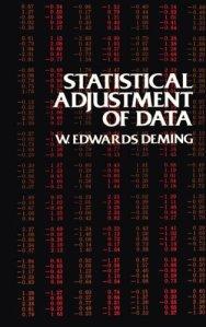 Statistical Adjustment of Data