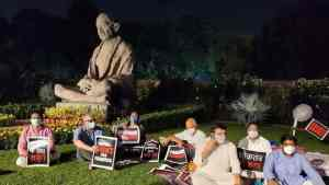 8 suspended Rajya Sabha MPs