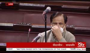 Ahmed Patel Rajya Sabha Online Education