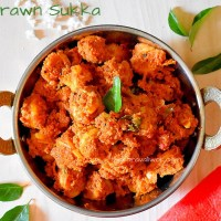 Prawn Sukka-Mangalorean style Yetti sukka recipe