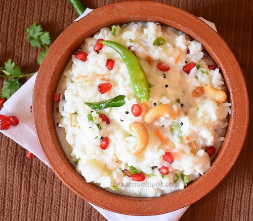 Image result for curd rice