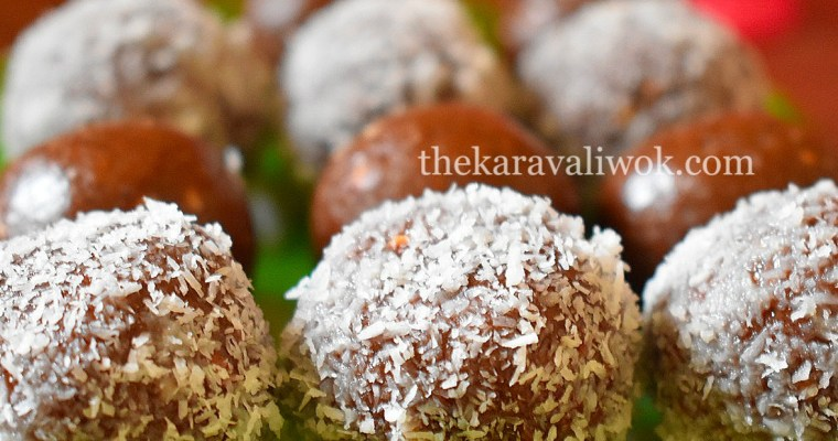 Choco Biscuit Ladoo – No cook Instant chocolate ladoo step by step