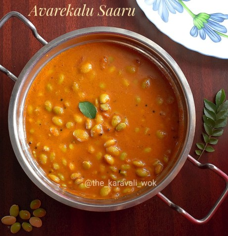 Avarekalu Saaru / Hyacinth Beans Curry