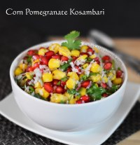Corn Pomegranate Salad
