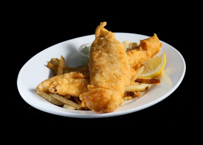 fish and chips, Friday night special, Greek restaurant in Niagara Falls, Mediterranean restaurant in Niagara Falls