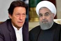 Imran Khan briefs Inranian President over crisis in Kashmir