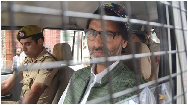 Centre bans Yasin Malik led JKLF