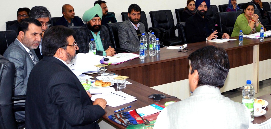 Altaf Bukhari finalizes roadmap to revamp JK's school education sector