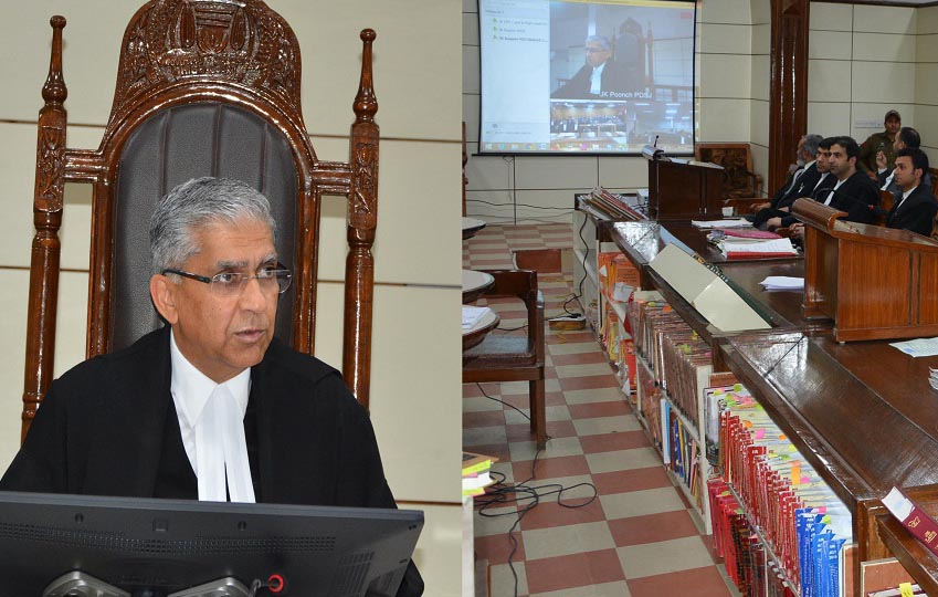 Chief Justice conducts maiden hearing of cases via videoconferencing