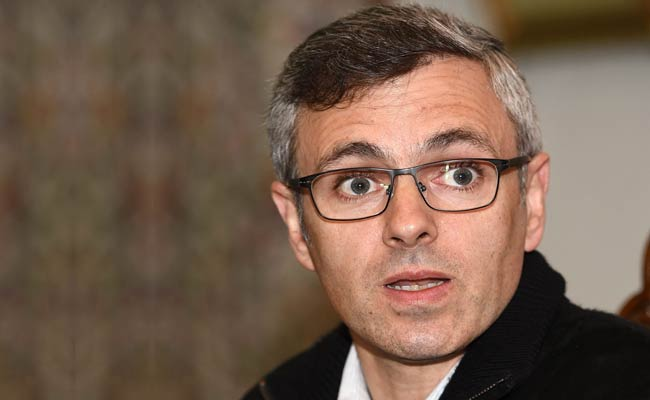 """NC concerned about """"instability and chaos"""" in J&K: Omar"""