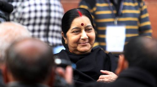 Su-raj (good governance) and Ms Swaraj