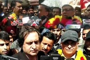 NC, PDP, PC candidates file nomination papers for Bla LS