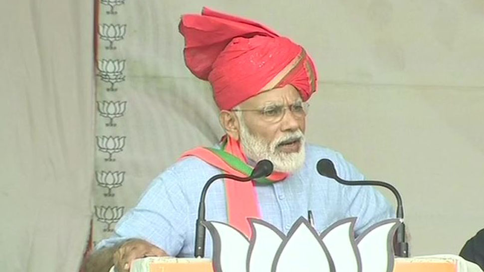 Oppn wants govt that is helpless before corruption, black money: Modi