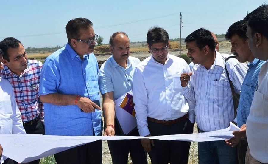 Principal Secretary Industries visits industrial estates of Kathua, Samba