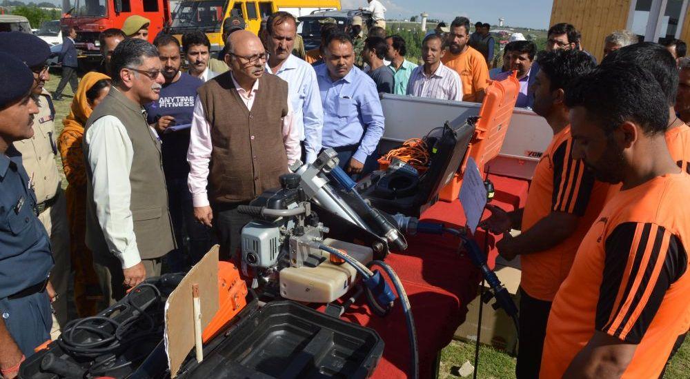 Skandan visits State Emergency Operation Center at Humhama