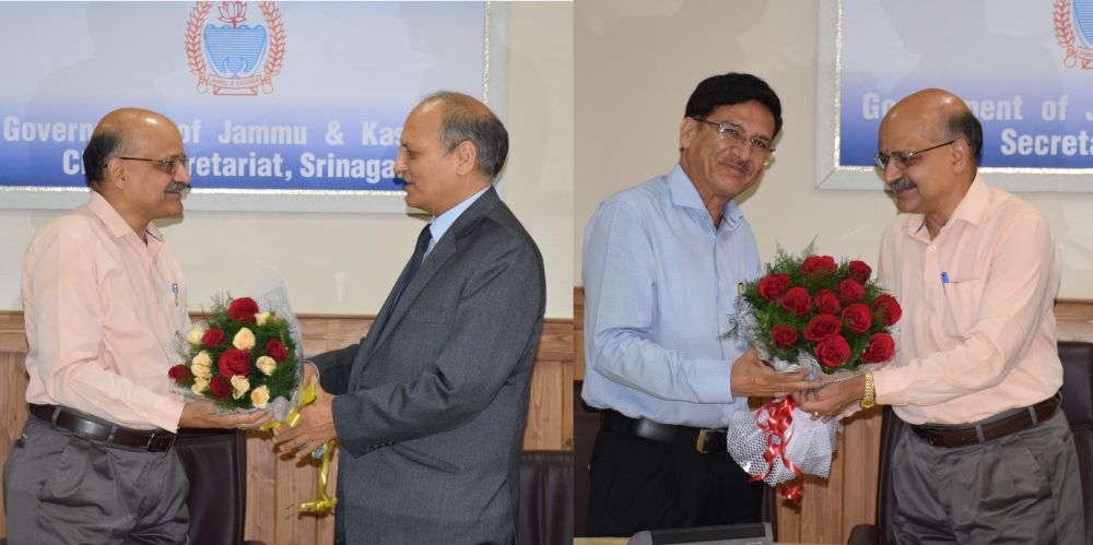 CS hosts farewell function for Suresh Kumar, Anil Kumar Gupta