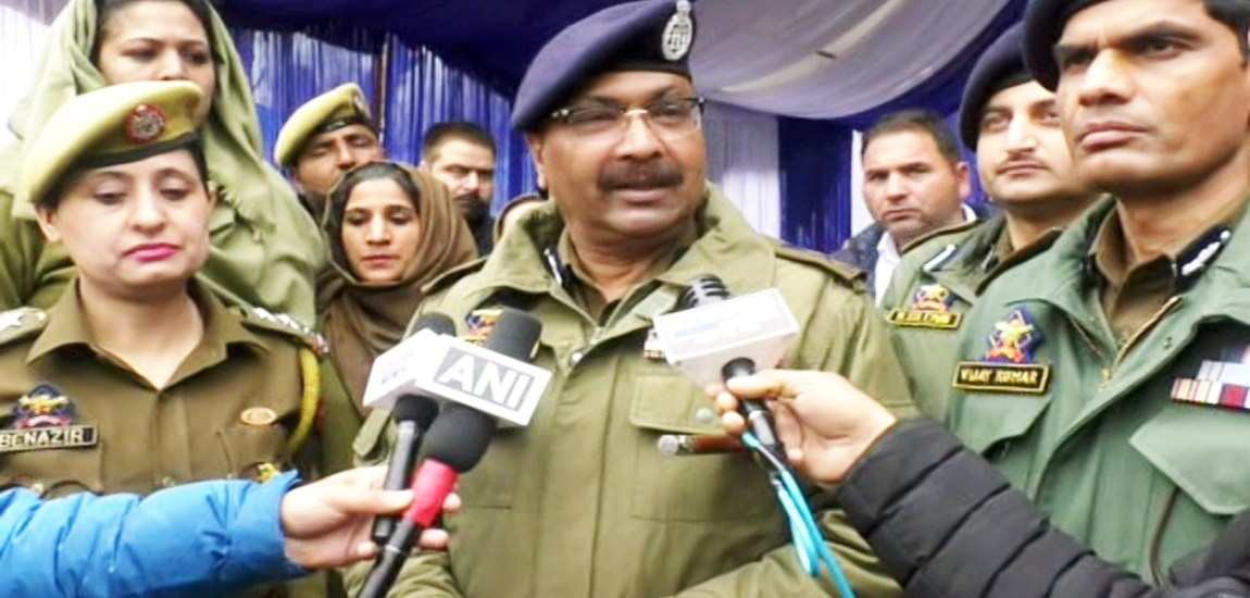 Substantial drop in number and activities of militants: DGP
