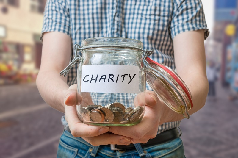 Charity and publicity can't co-exist