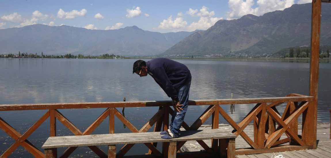 As all mosques and shrines in Kashmir remain closed for congregational prayers in the wake of Covid-19 spread…