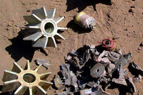 Live mortar destroyed in Poonch