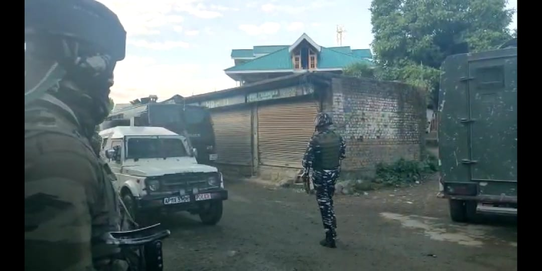 Two militants killed in ongoing Sopore gunfight