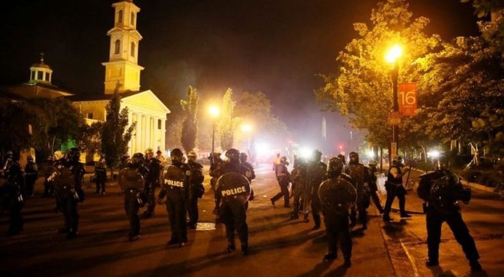 Violent protests engulf US, thousands arrested and nearly 40 cities under curfew