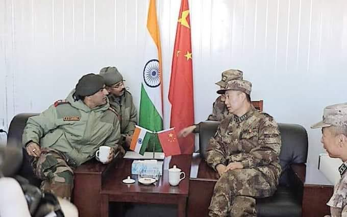 Indian and Chinese commanders hold talks on further disengagement in eastern Ladakh