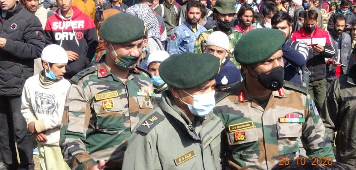GoC 15 Corps warns tough action against militants