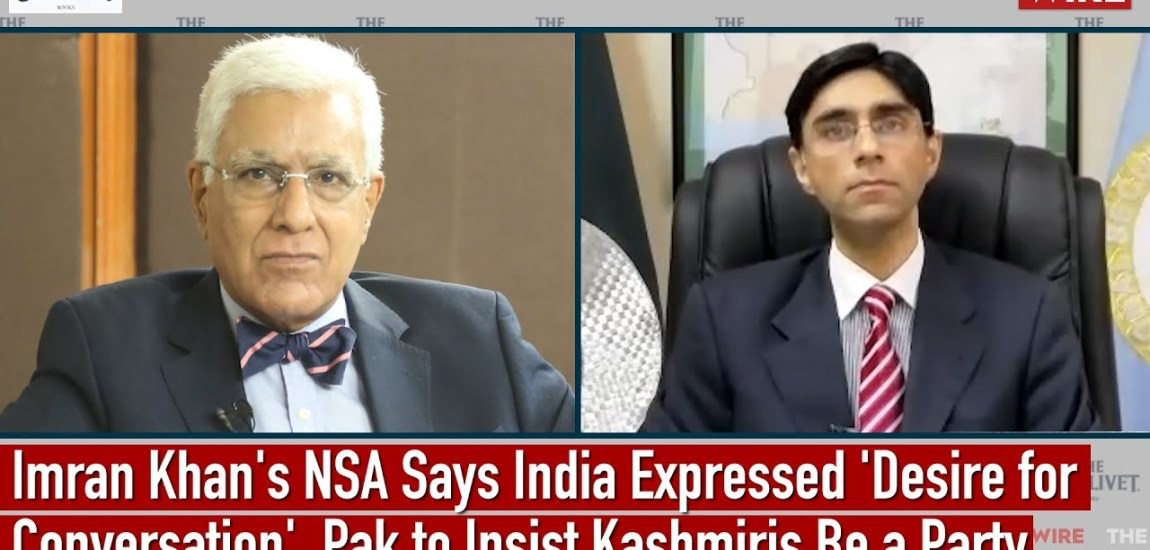 India willing to talk, says Pak PM's NSA