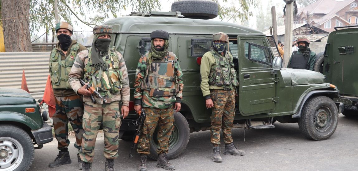 Forces stay alert near the encounter site in Rangreth…
