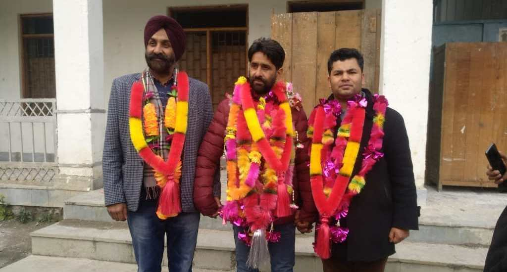 JKRTTF holds district elections in Baramulla