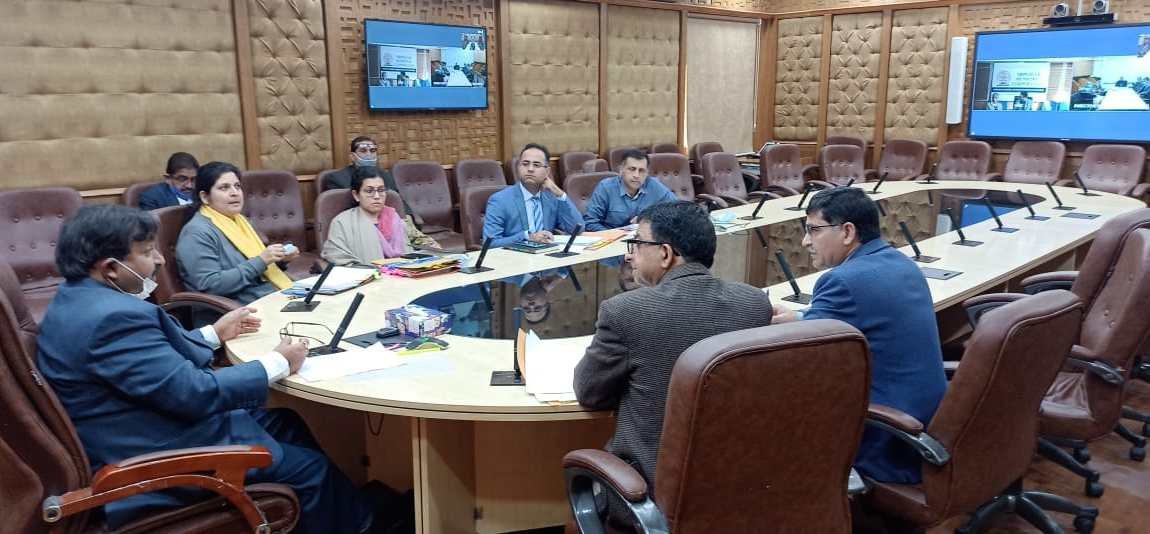 Dheeraj Gupta reviews implementation of transfer of funds, functions, functionaries to Municipal Bodies of JK