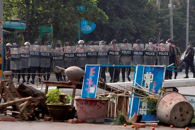 Fatalities feared as Myanmar police intensify use of force