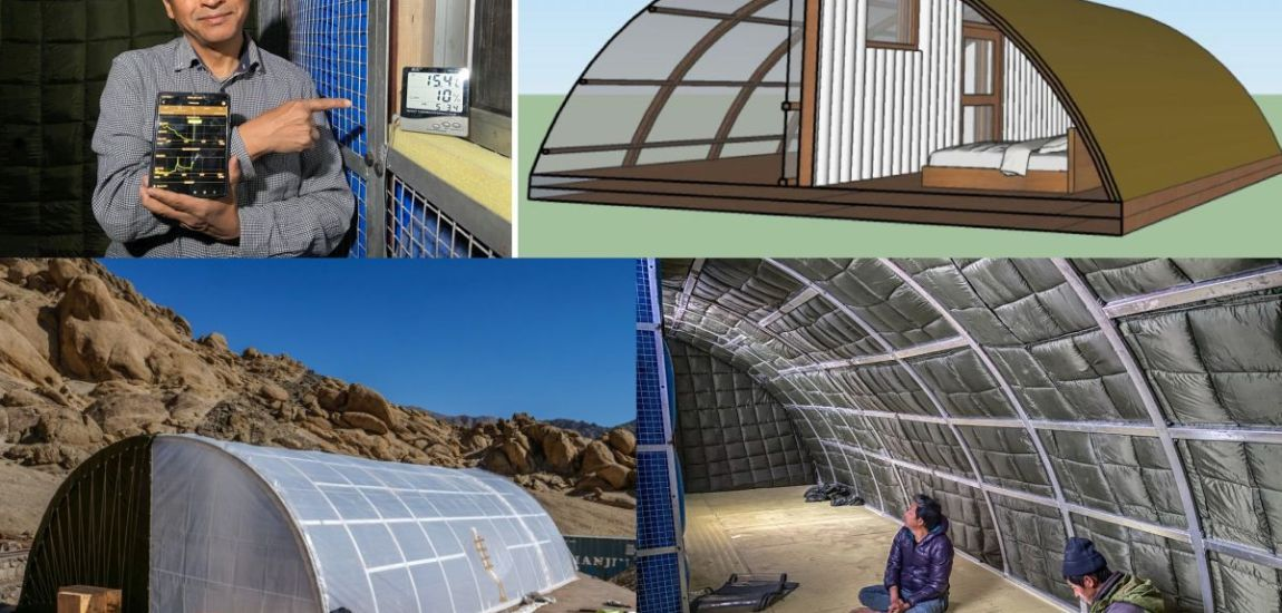 Innovator Sonam Wangchuk develops solar heated tent for Army personnel