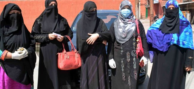 Pak wives of ex-Kashmiri militants hold protest march, appeal PM to resolve their issues