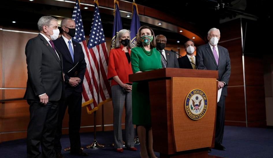 US Congress passes $1.9T pandemic bill on near party-line vote