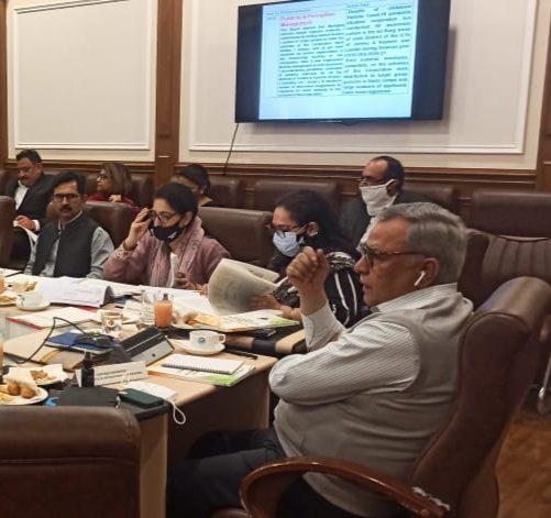 Advisor Farooq Khan chairs 40th BoD meeting of JKSCSTBCDC