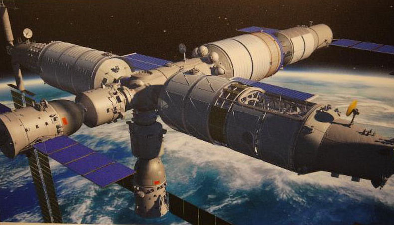 Chinese astronauts training for space station crewed flights