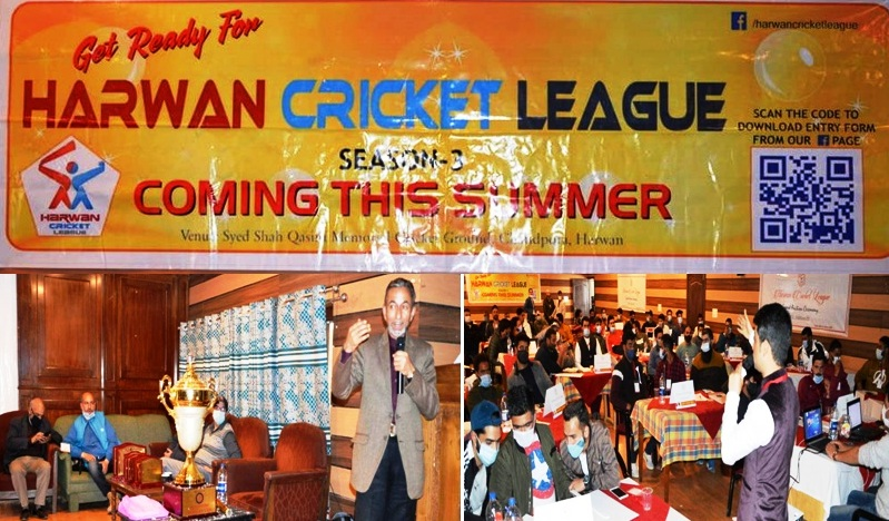 23 teams participating in Harwan Cricket League auctioning