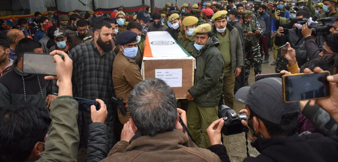 Municipal councillor, security guard shot dead by militants in Sopore