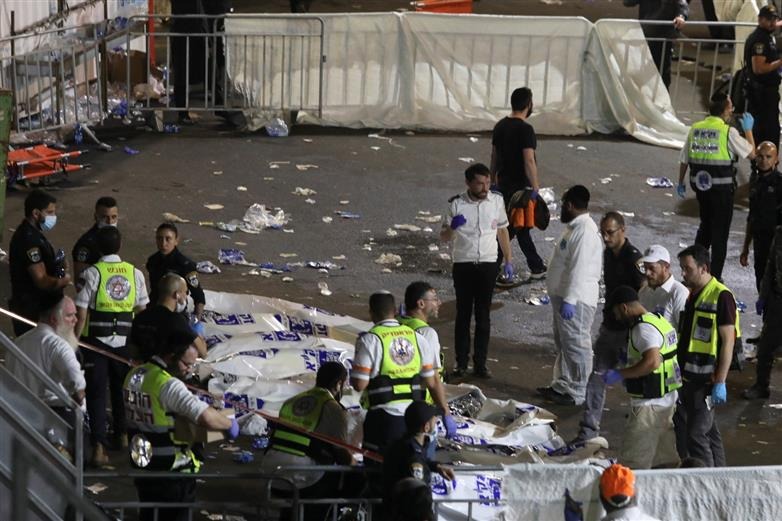 44 killed in stampede at Jewish religious festival in Israel